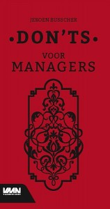 Don'ts voor managers
