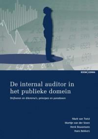 Studieboeken bestuur en beleid De internal auditor in het publieke domein