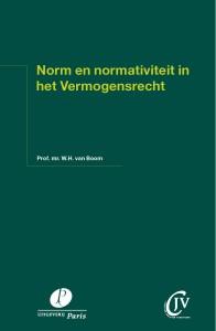 Norm en normativiteit in het vermogensrecht