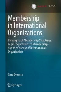 Membership in International Organizations