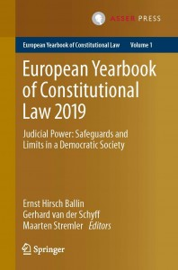 European Yearbook of Constitutional Law