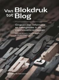 Van blokdruk tot blog