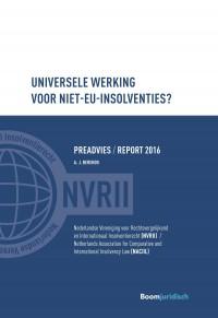 Universele werking voor niet-EU insolventies?