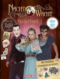Nachtwacht : glow in the dark, stickerboek seizoen 3