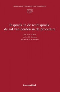 Inspraak in de rechtspraak: de rol van derden in de procedure