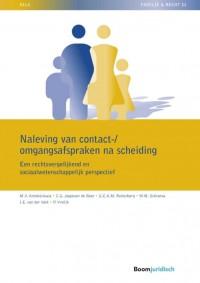Naleving van contact-/omgangsafspraken na scheiding