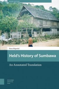 Asian History Held's History of Sumbawa