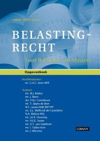 Belastingrecht voor Bachelors en Masters 18/19