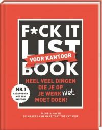 F*CK-it list book voor kantoor