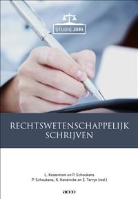 Rechtswetenschappelijk schrijven