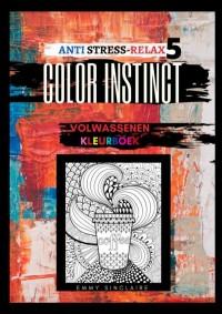 Volwassenen kleurboek Color Instinct 5 : Anti Stress Relax voeding
