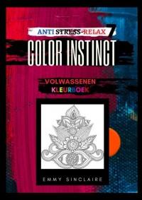 Volwassenen kleurboek Color Instinct 4 : Anti Stress Relax Fantasiewereld