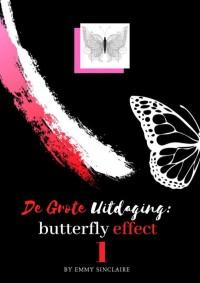 Volwassenen kleurboek De Grote Uitdaging : Butterfly Effect
