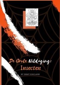 Volwassenen kleurboek De Grote Uitdaging : Insecten