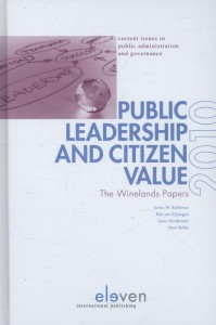 Public leadership and citizen value