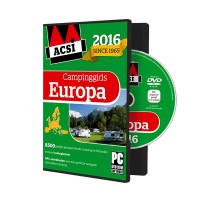 ACSI Campinggids : ACSI Campinggids dvd Europa 2016