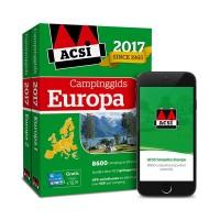 ACSI Campinggids : ACSI Campinggids Europa + app 2017