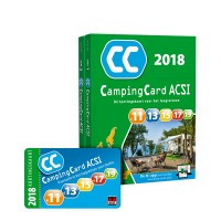 ACSI Campinggids - CampingCard ACSI 2018 - set 2 delen