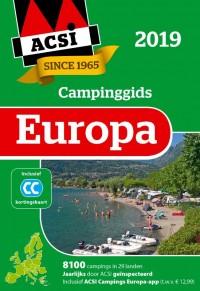 ACSI Campinggids Europa 2019 + app set 2 delen